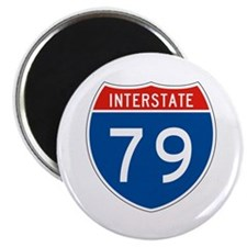 "Interstate 79, USA 2.25"" Magnet (10 pack)"