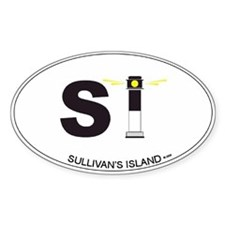 Sullivan's Island Oval Decal