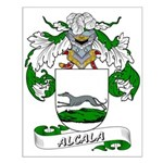 Alcala Family Crest Small Poster