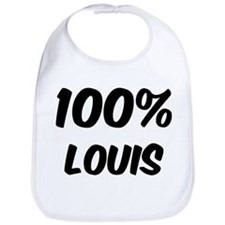 100 Percent Louis Bib