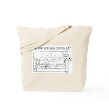 WhereRU Great Dane Tote Bag