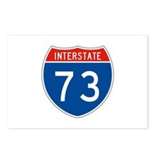Interstate 73, USA Postcards (Package of 8)