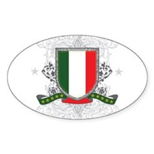 Italy Shield Oval Decal