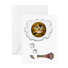 Smiley Genie Greeting Card