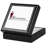 Groomsman Keepsake Box