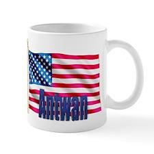 Antwan Personalized USA Flag Mug