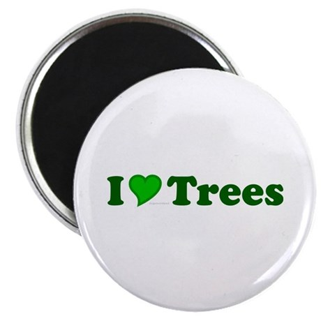 "I Love Trees 2.25"" Magnet (100 pack)"