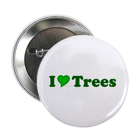 "I Love Trees 2.25"" Button (10 pack)"