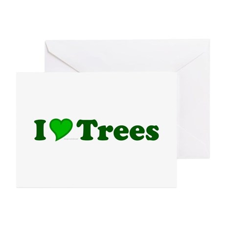 I Love Trees Greeting Cards (Pk of 10)