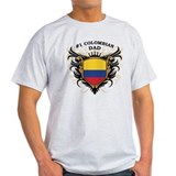 Number One Colombian Dad T-Shirt