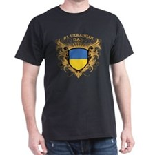 Number One Ukrainian Dad T-Shirt