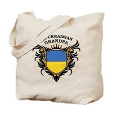 Number One Ukrainian Grandpa Tote Bag