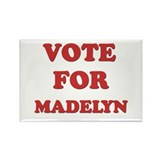 Vote for MADELYN Rectangle Magnet (10 pack)