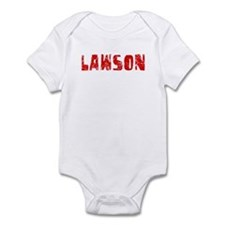Lawson Faded (Red) Infant Bodysuit