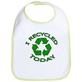 I Recycled Today Bib