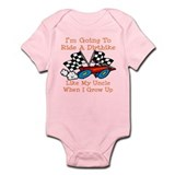 Dirtbike Like My Uncle Onesie