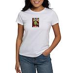Alien Abduction Cat Women's T-Shirt