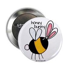 "Honey Bunny 2.25"" Button (10 pack)"