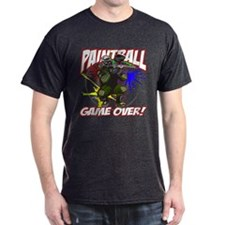 Paint Ball Game Over T-Shirt