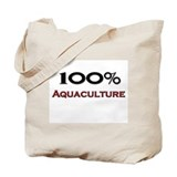 100 Percent Aquaculture Tote Bag