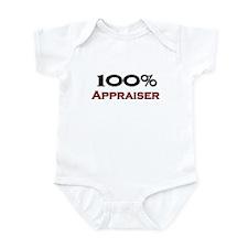 100 Percent Appraiser Infant Bodysuit
