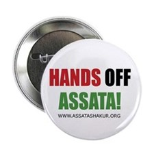 "Hands off Assata 2.25"" Button (10 pack)"