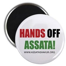 Hands off Assata Magnet