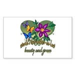 Beautiful Mother-in-law Rectangle Sticker 10 pk)