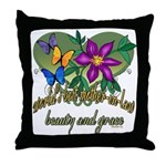 Beautiful Mother-in-law Throw Pillow
