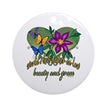 Beautiful Mother-in-law Ornament (Round)