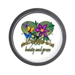 Beautiful Mother-in-law Wall Clock