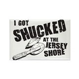 I Got Shucked! Rectangle Magnet