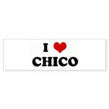 I Love CHICO Bumper Sticker (50 pk)