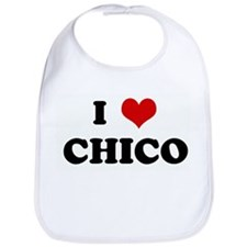 I Love CHICO Bib