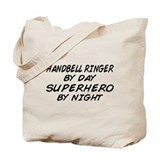 Handbell Superhero by Night Tote Bag