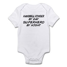 Handbell Superhero by Night Infant Bodysuit