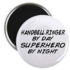 Handbell Superhero by Night Magnet