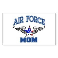 Air force Mom Rectangle Decal