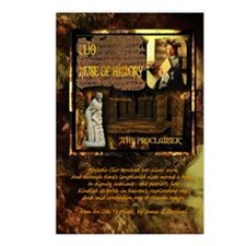 Greek Goddess Clio Postcards (Package of 8)