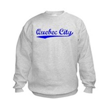 Vintage Quebec City (Blue) Sweatshirt