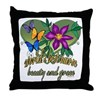Beautiful Nurse Throw Pillow