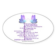 Understanding Fibro Oval Decal
