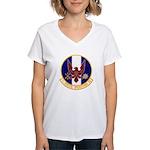 1st Specops Squadron Women's V-Neck T-Shirt