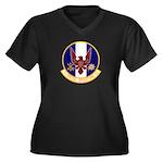 1st Specops Squadron Women's Plus Size V-Neck Dark
