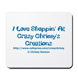 I Love Shoppin CCC Mousepad