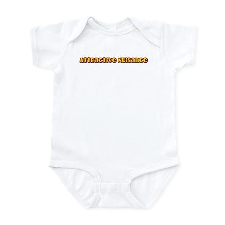 Attractive Nuisance (hot) Infant Bodysuit
