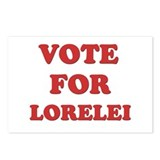 Vote for LORELEI Postcards (Package of 8)