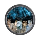 Wolf Clock