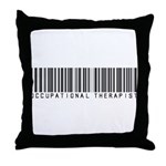 Occupational Therapist Barcode Throw Pillow