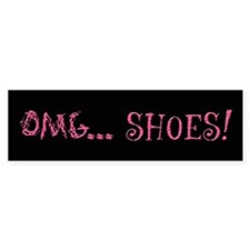 OMG Shoes 2.0 Bumper Sticker (10 pk)